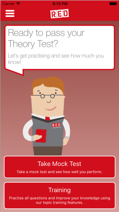 RED Theory Test - Lite