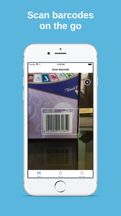 Barcode Scanner for Amazon Screenshot
