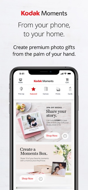 Kodak Moments on the App Store