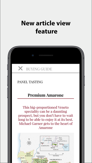 Decanter Magazine Na review screenshots