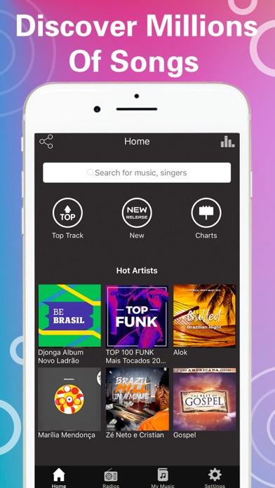 Tuner Radio Pro Video Player screenshot one