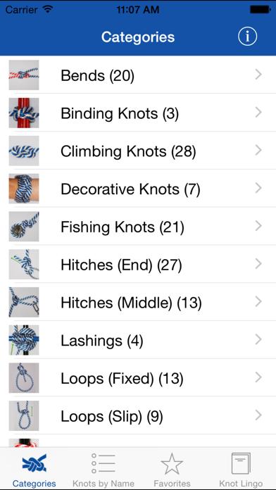Knot Guide (100+ knots) screenshot three