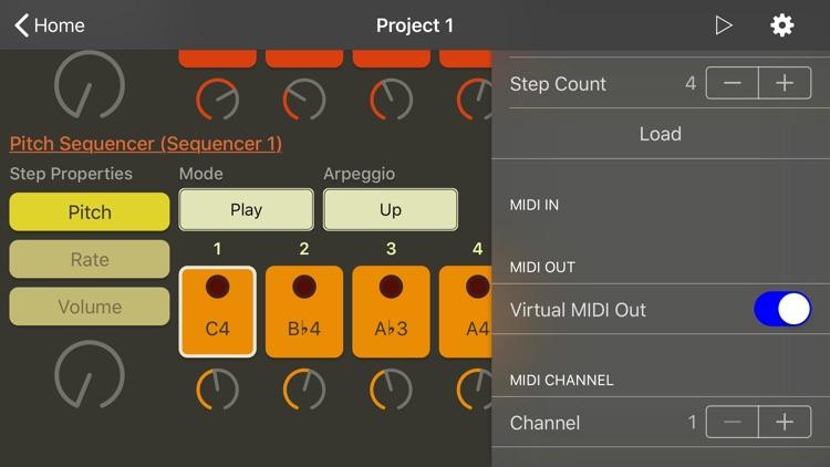 ArpBud - MIDI Sequencer & More screenshot-3