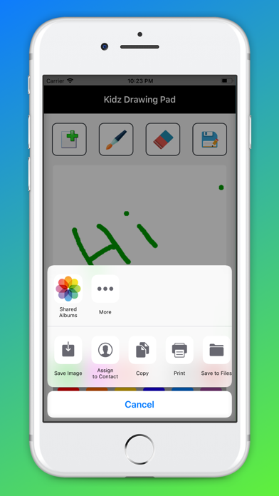Screenshot for Kidz Drawing Pad in United States App Store