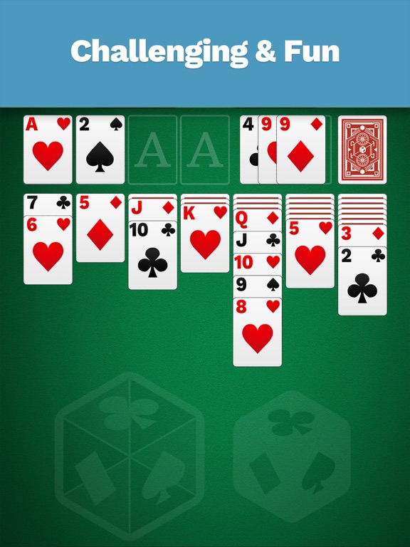 Solitaire Cube, Classic Cards by Tether Studios (iOS, United