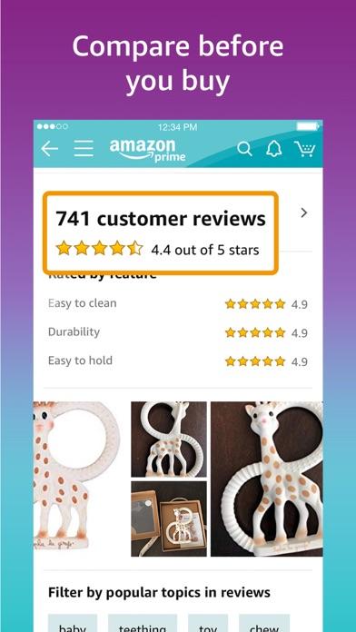 Amazon review screenshots