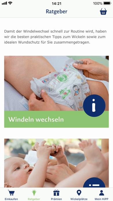 Herunterladen HiPP Windel App für Pc