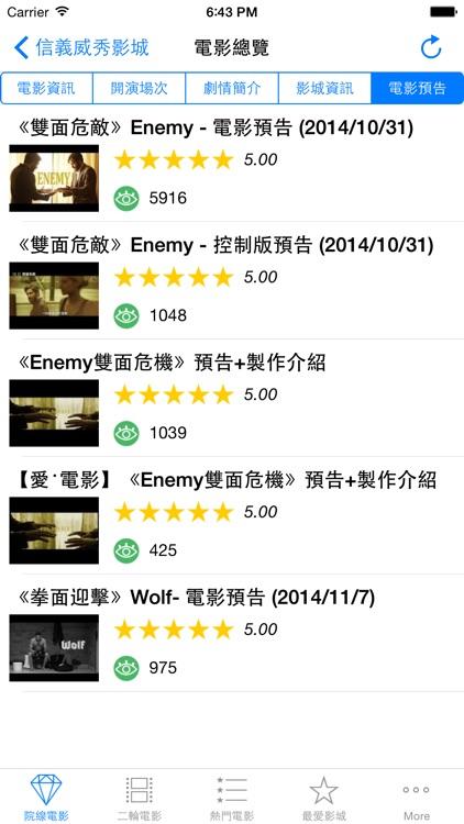 電影資訊 TaiwanMovies screenshot-4
