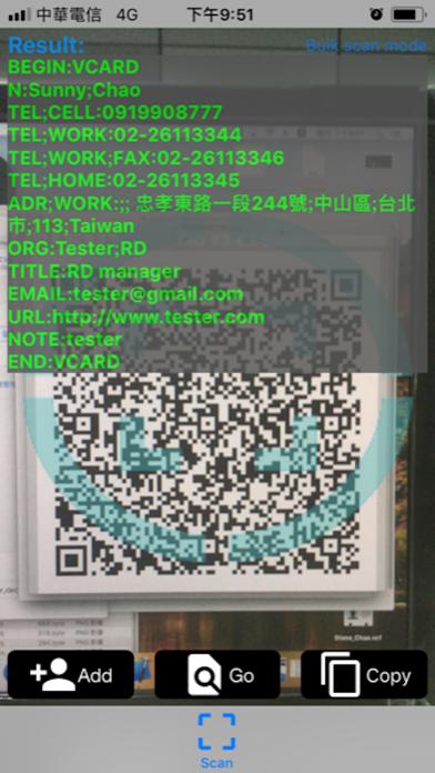Logo QR Barcode Scanner screenshot two