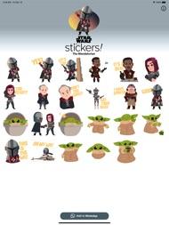 The Mandalorian Stickers ipad images