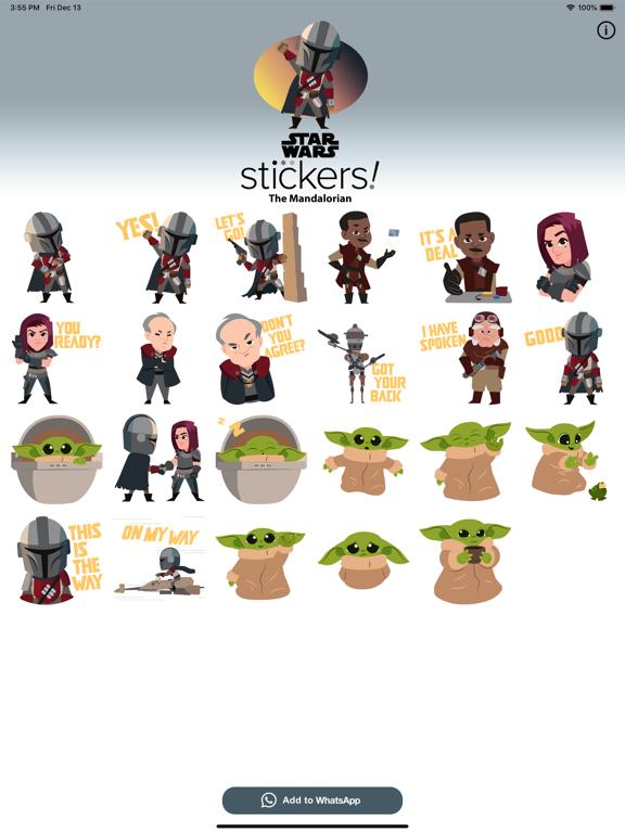 The Mandalorian Stickers screenshot 5