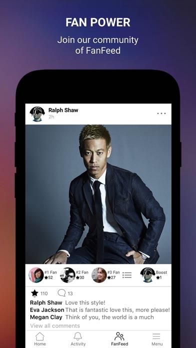 Keisuke Honda Official Appのおすすめ画像3