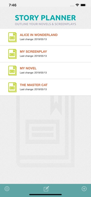 picture relating to Novel Planner Online Free titled \u200eStory Planner for Writers