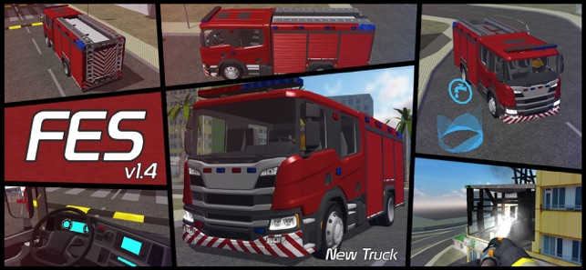 Fire Engine Simulator on the App Store