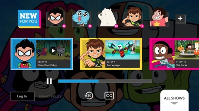Cartoon Network phone App screenshot 2