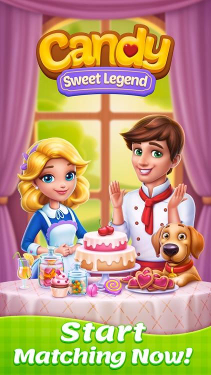 Candy Sweet Legend - Match 3 screenshot-6