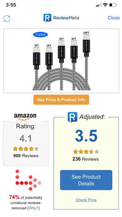 Herunterladen Review Meta: Filtered Reviews für Pc