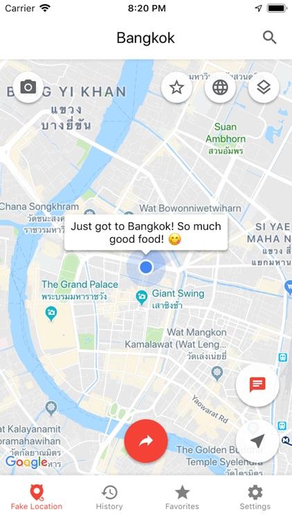 Fake GPS Location°