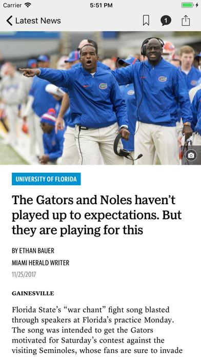 News for Gators Football Screenshot