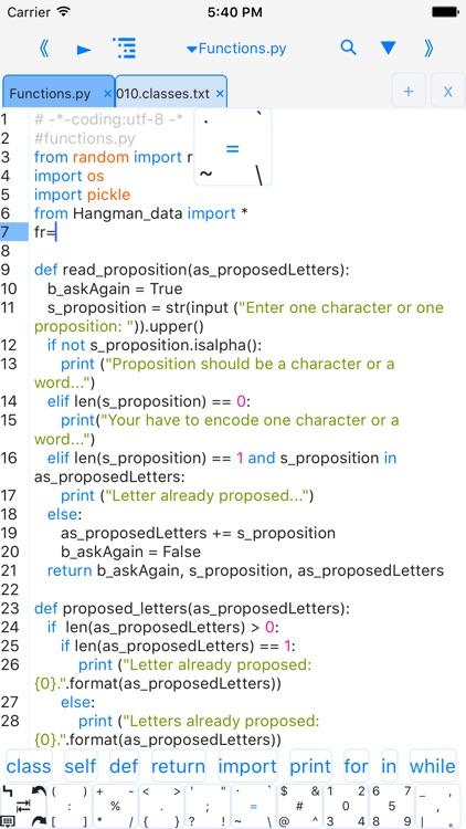 pythoni-run code,autocomplete