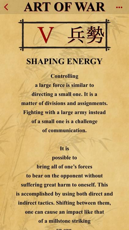 The Art of War of Sun Tzu screenshot-5