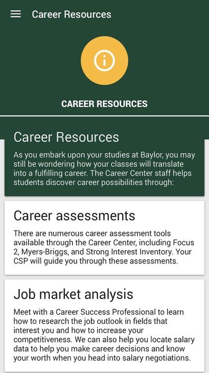 Baylor Career Day screenshot-3