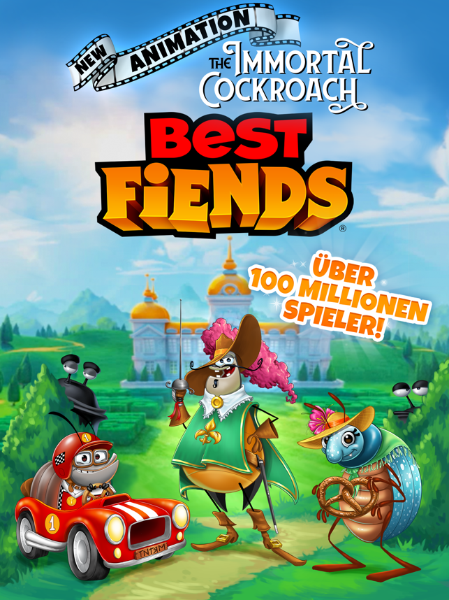 Best Fiends - Puzzle-Abenteuer Screenshot