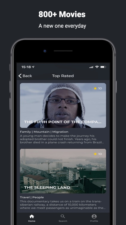 GuideDoc Curated documentaries screenshot-3