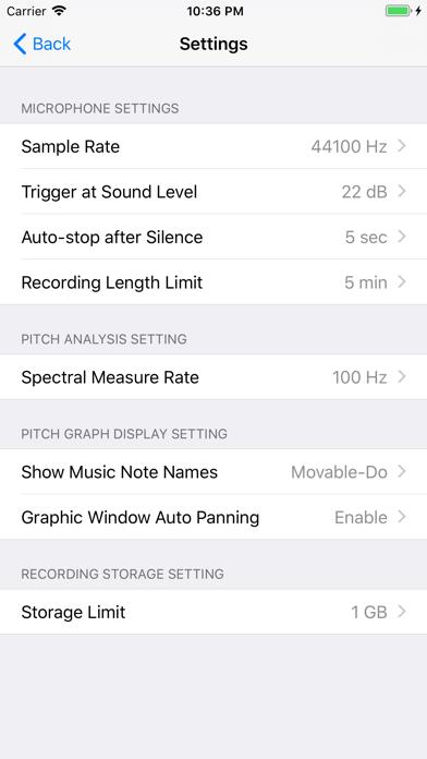 Singscope - Show Your Pitch as You Sing screenshot
