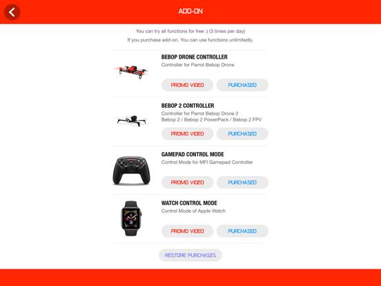 Drone Controller for Bebop screenshot 12