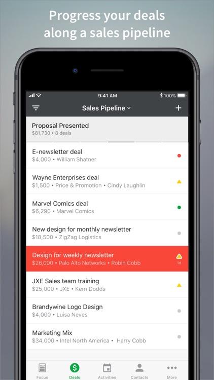 Pipedrive – Sales CRM screenshot-3