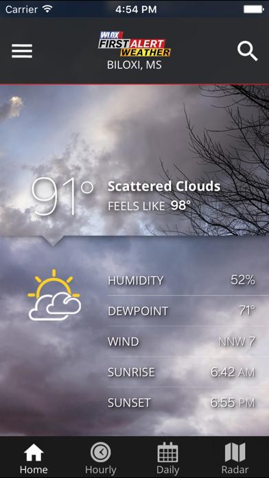 Wlox Weather review screenshots