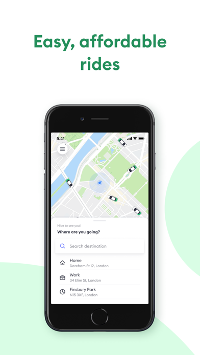 Taxify - Transport & Taxi App screenshot