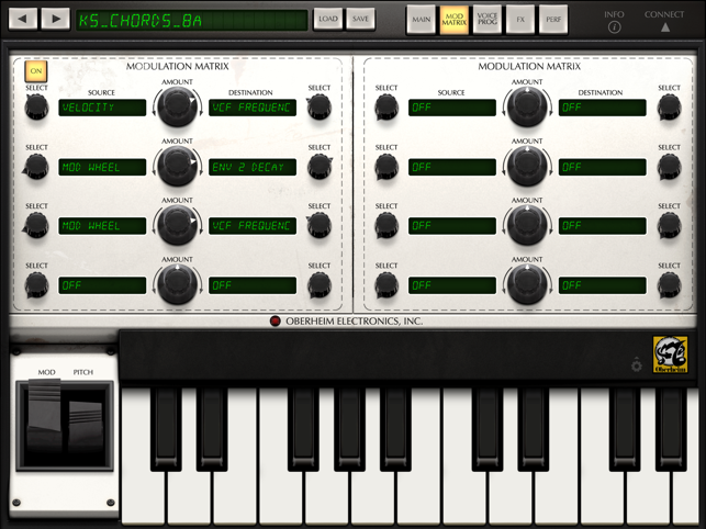 ‎iSEM Synthesizer Screenshot