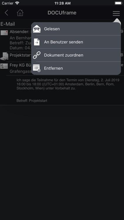 DOCUframe2 screenshot-4