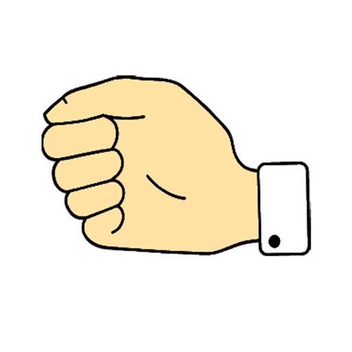 Stone paper scissor - Animated icon