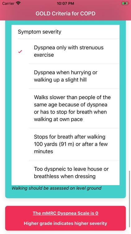 GOLD Criteria for COPD screenshot-4