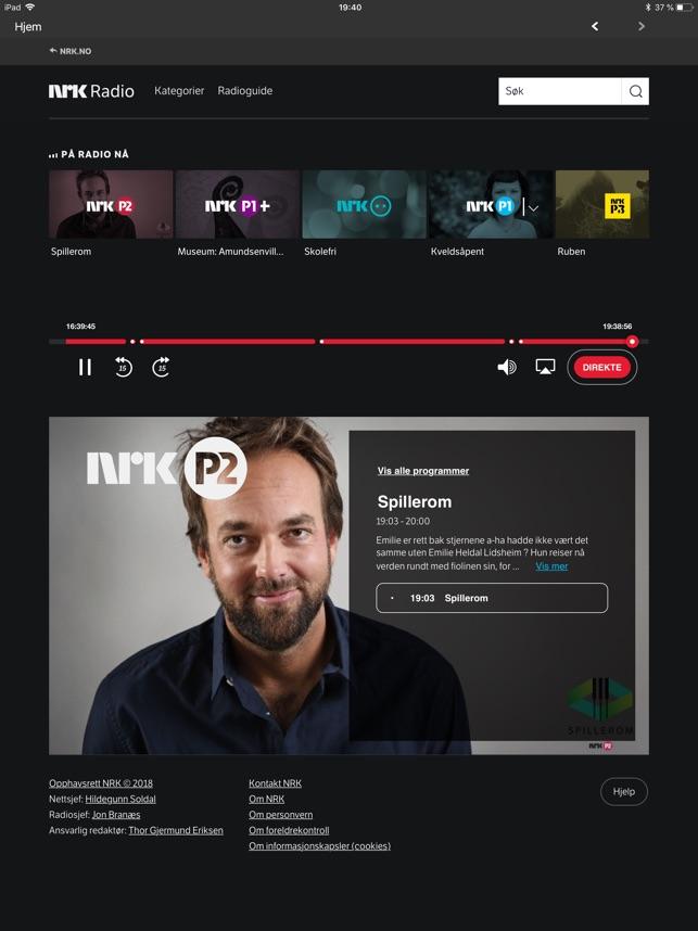 4d8fbc3c0 NRK Radio on the App Store