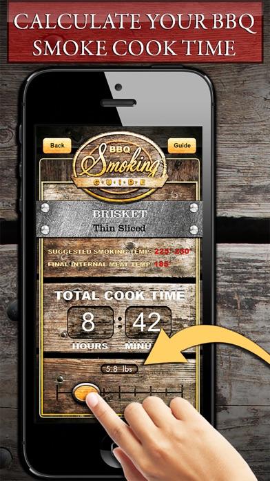 BBQ Smoking Cooking Guide! Screenshot