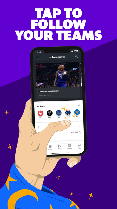 Yahoo Sports: Watch Live Games app image