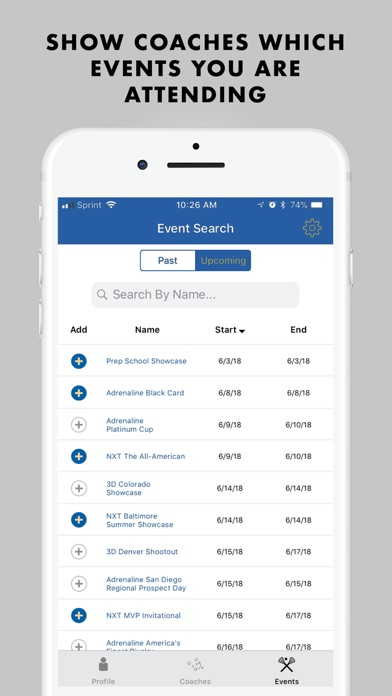 IMLCA Players Directory Screenshot