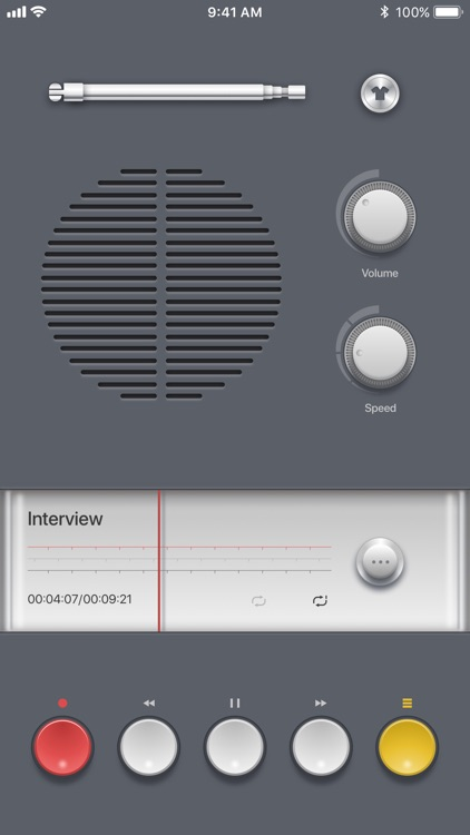 Voice Recorder PRO, Recording screenshot-2
