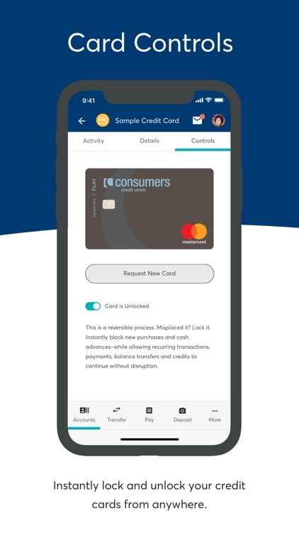 Consumers Credit Union - MI screenshot-4