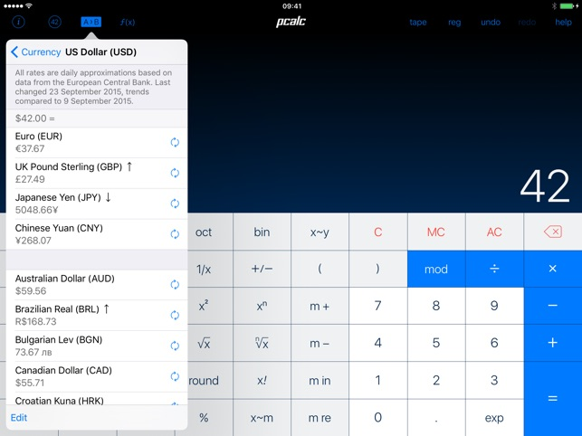 PCalc Screenshot