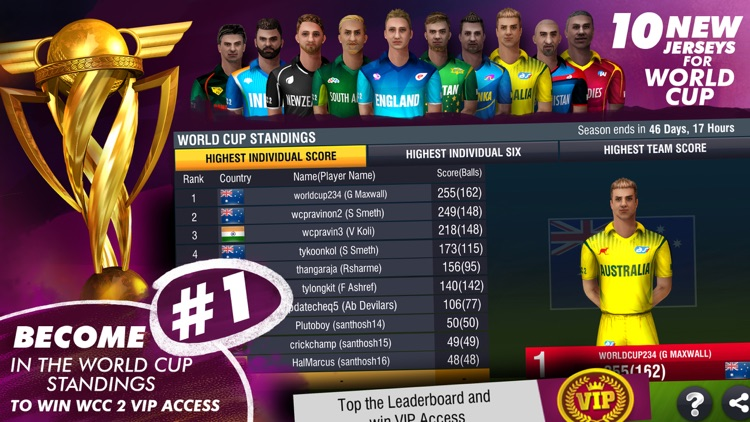 World Cricket Championship 2 screenshot-3