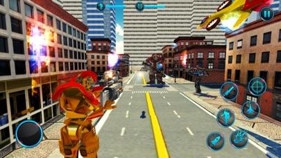 لعبة روبوت سيارة جت متعددةلقطة شاشة1