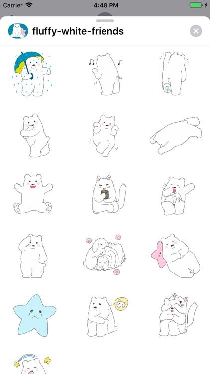 fluffy-white-friends screenshot-4