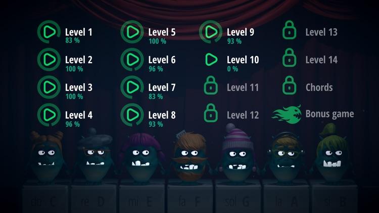 Piano Monsters: Fun music game screenshot-3