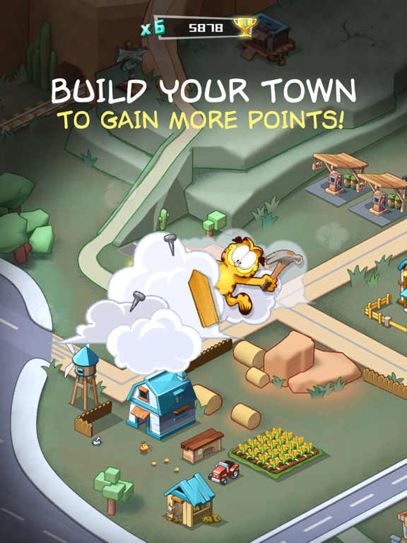 Garfield Run: Road Tour screenshot 7