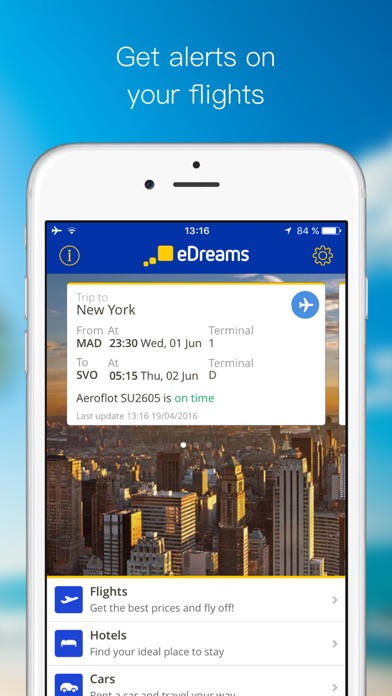 Download eDreams:Cheap Travel Deals for Pc